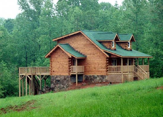 Country log cabins destinations designs Country log home
